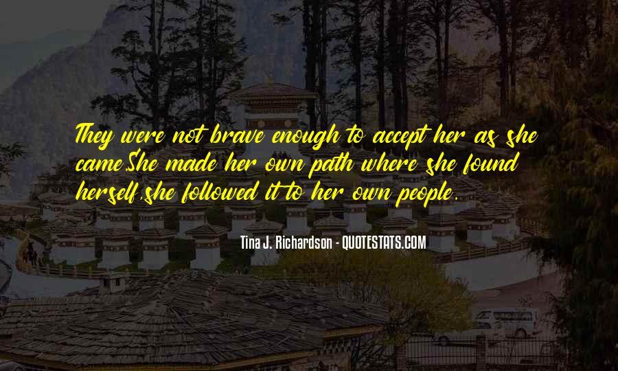 Tina J. Richardson Quotes #242961