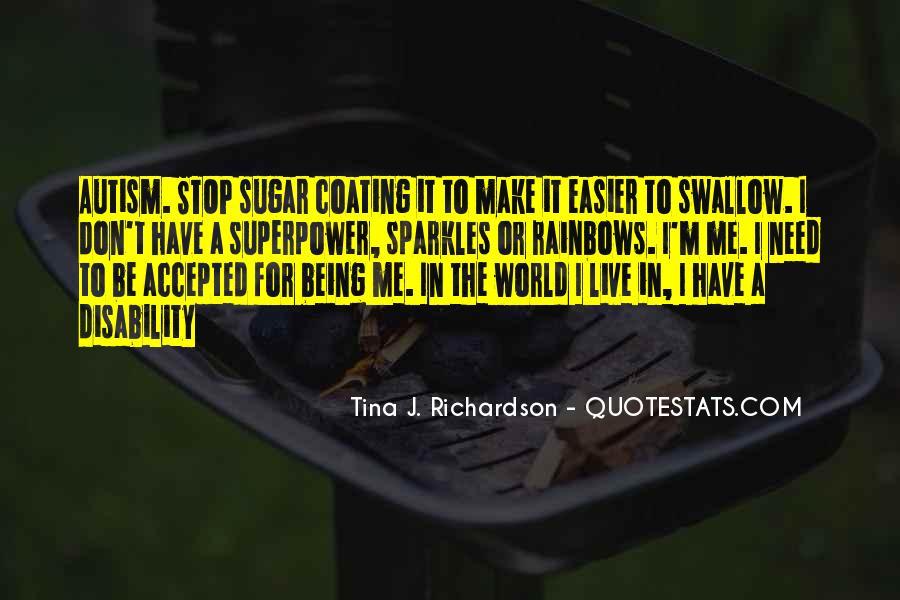 Tina J. Richardson Quotes #356257