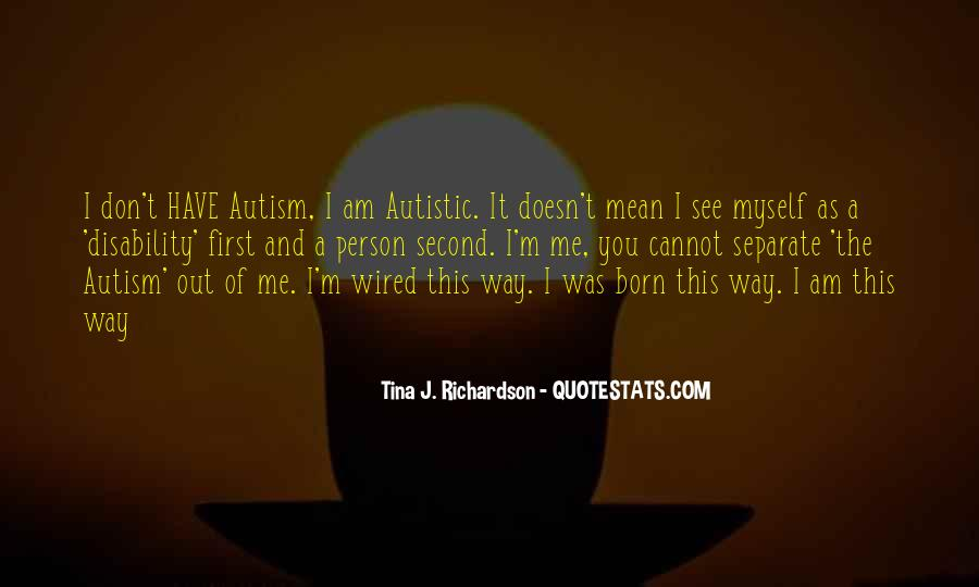 Tina J. Richardson Quotes #431509