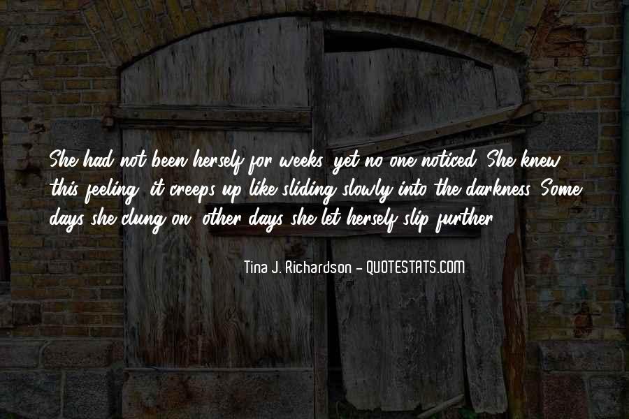 Tina J. Richardson Quotes #437038