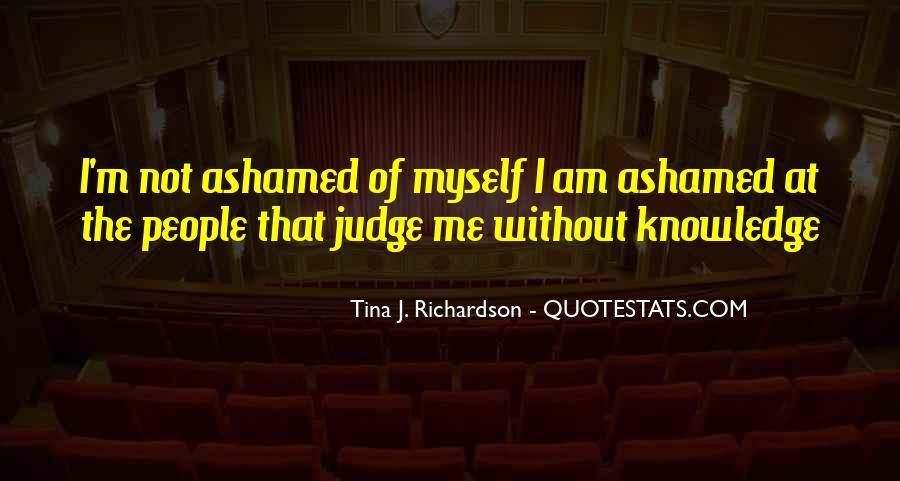 Tina J. Richardson Quotes #474967