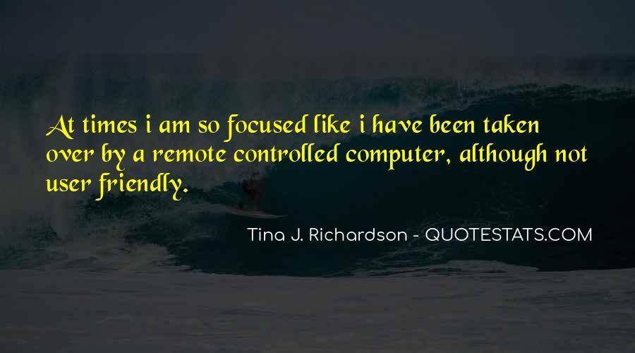 Tina J. Richardson Quotes #485179