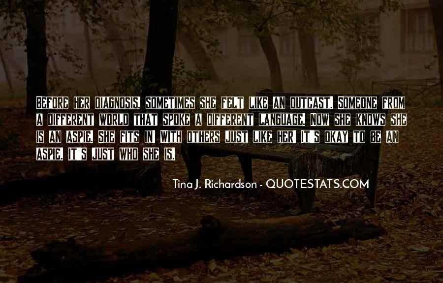 Tina J. Richardson Quotes #615086