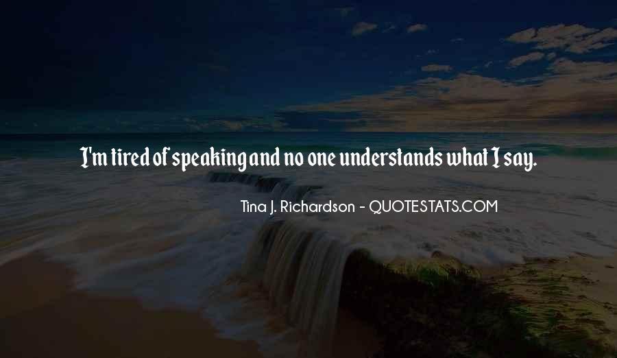 Tina J. Richardson Quotes #644674