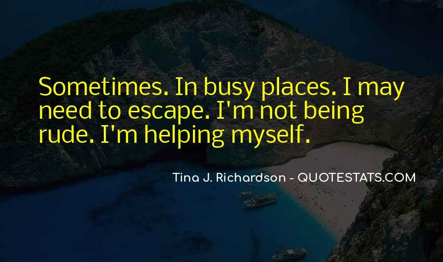Tina J. Richardson Quotes #698701