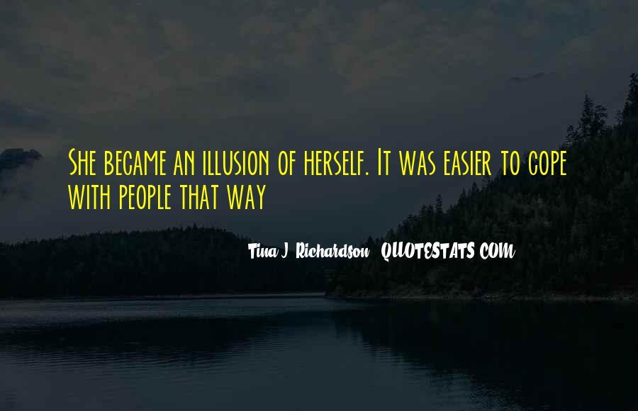 Tina J. Richardson Quotes #71727