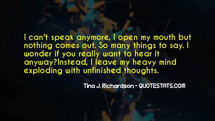Tina J. Richardson Quotes #728355