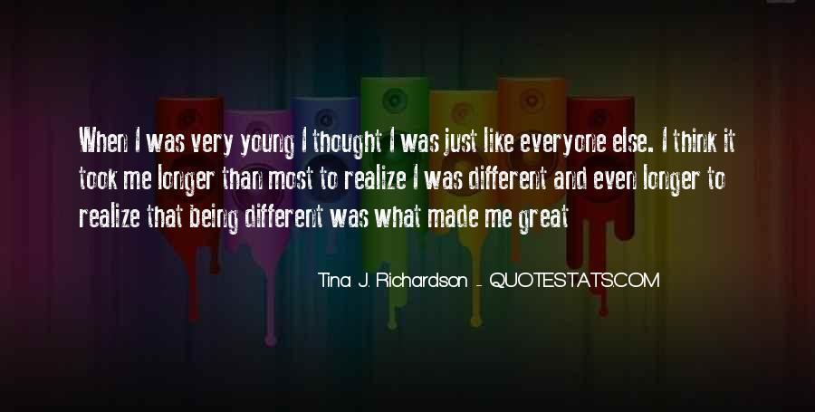 Tina J. Richardson Quotes #75338