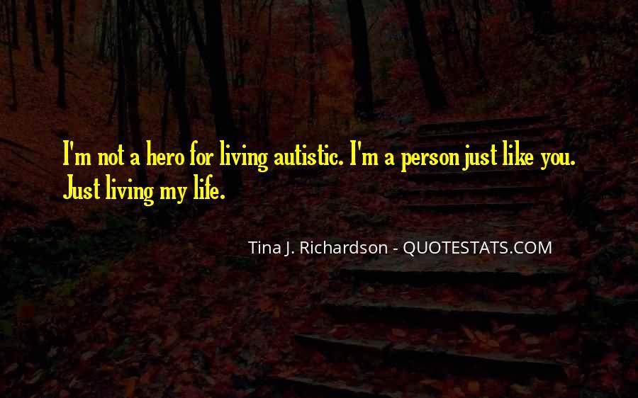 Tina J. Richardson Quotes #758769