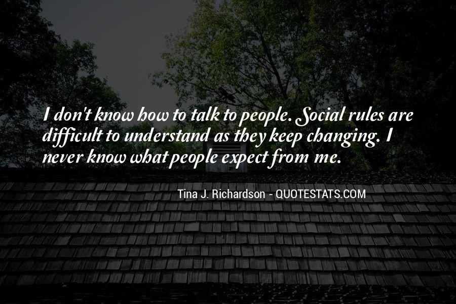 Tina J. Richardson Quotes #841804