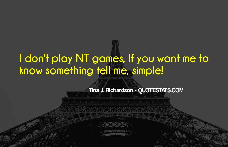 Tina J. Richardson Quotes #862819