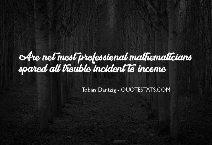 Tobias Dantzig Quotes #1787356