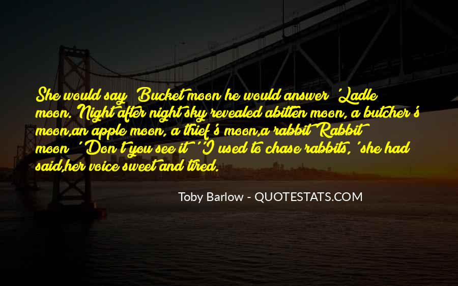 Toby Barlow Quotes #1020915