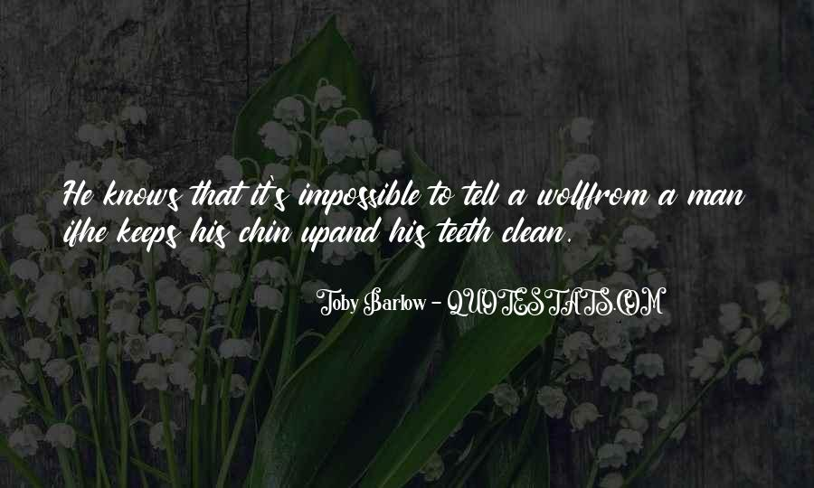 Toby Barlow Quotes #1231280