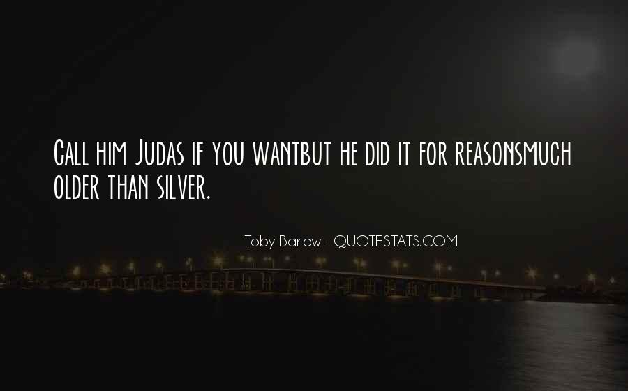 Toby Barlow Quotes #1296298