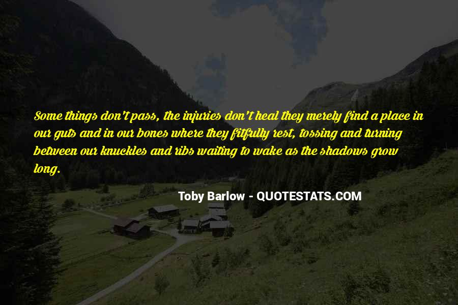 Toby Barlow Quotes #1475959