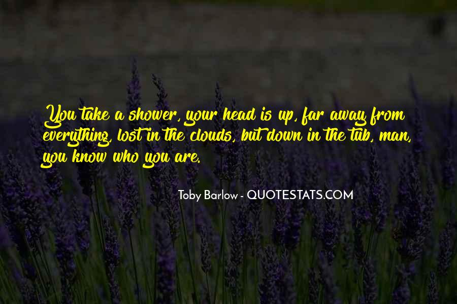 Toby Barlow Quotes #154305