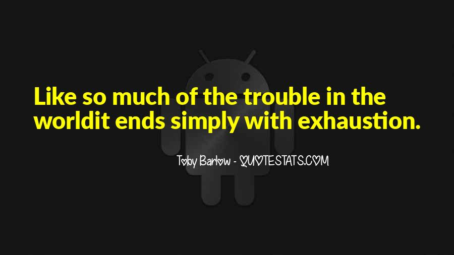 Toby Barlow Quotes #1708713