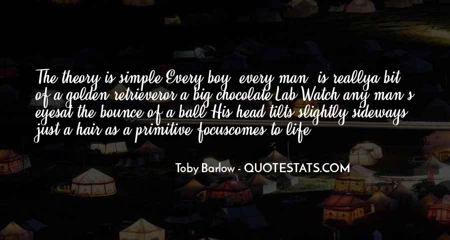 Toby Barlow Quotes #437958