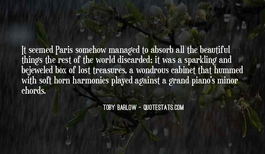 Toby Barlow Quotes #634032