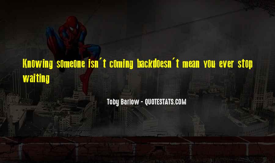 Toby Barlow Quotes #644391