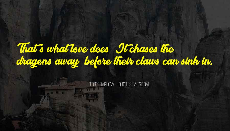 Toby Barlow Quotes #781171