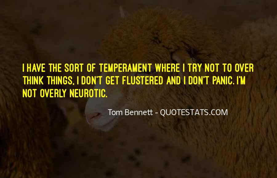 Tom Bennett Quotes #1706344