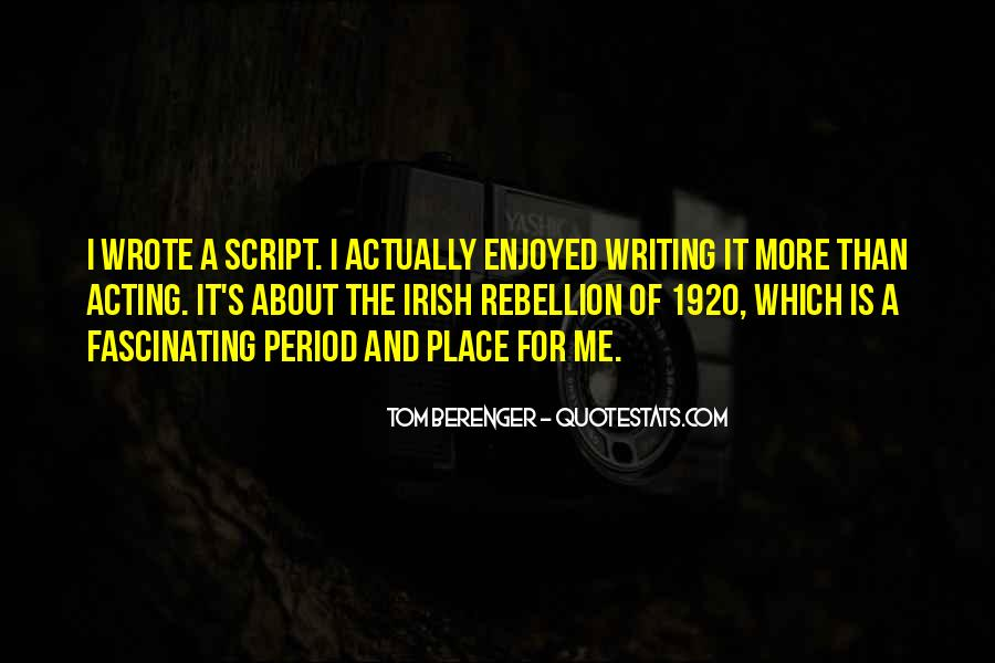 Tom Berenger Quotes #1323282