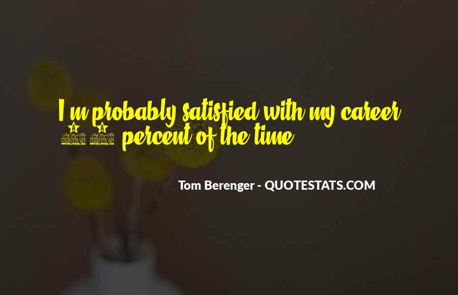 Tom Berenger Quotes #15012