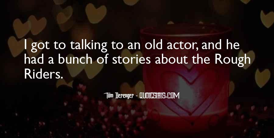 Tom Berenger Quotes #748253