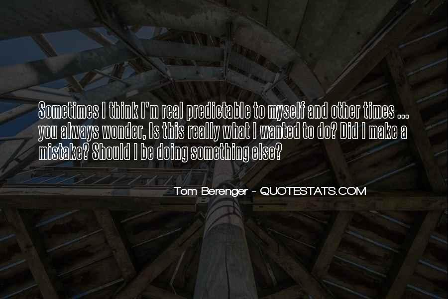 Tom Berenger Quotes #931021