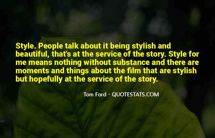 Tom Ford Quotes #1130469
