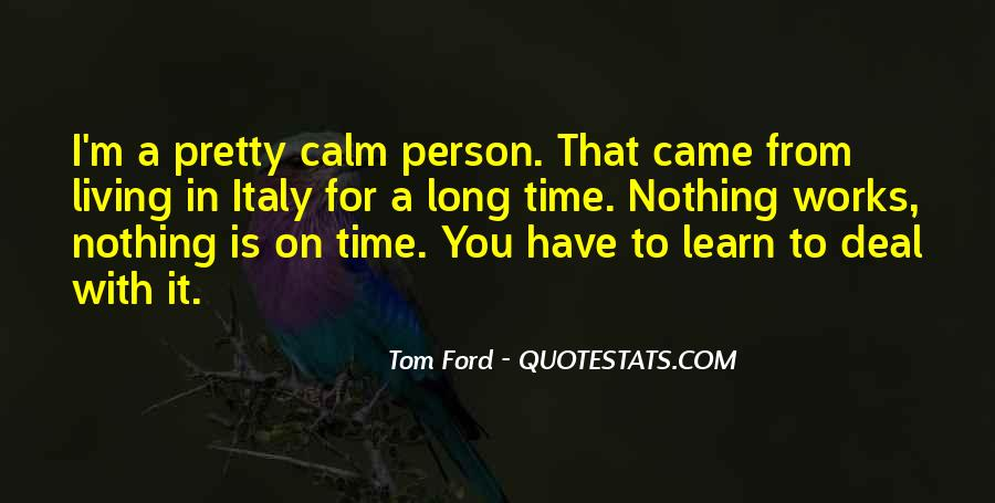 Tom Ford Quotes #557975