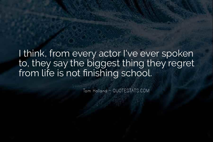 Tom Holland Quotes #1665167