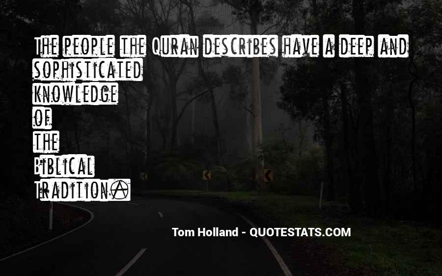 Tom Holland Quotes #272627