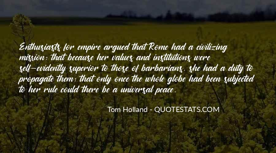Tom Holland Quotes #42907