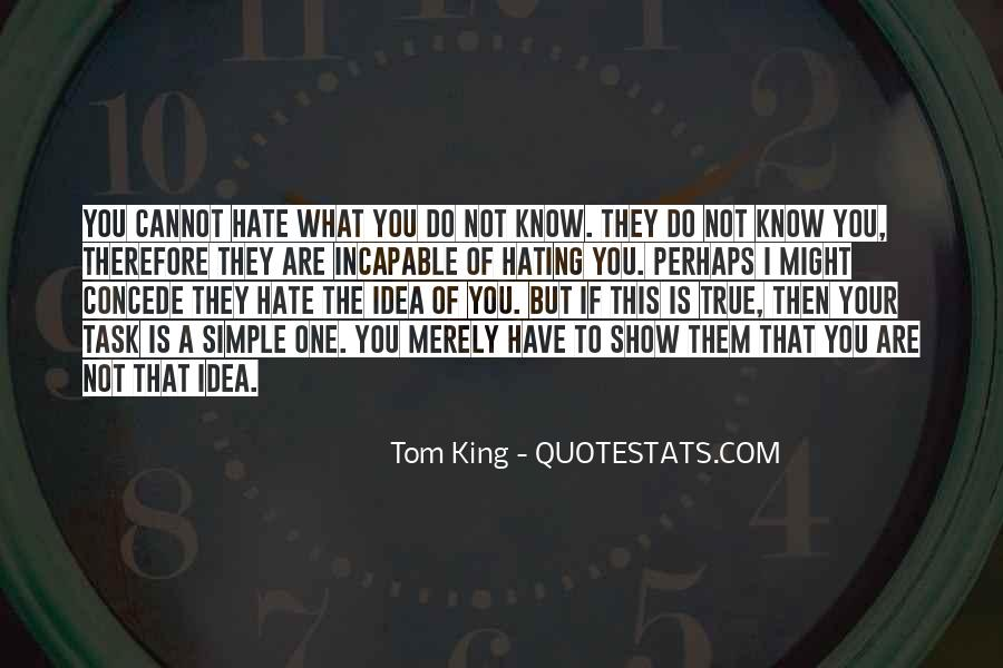Tom King Quotes #1318331