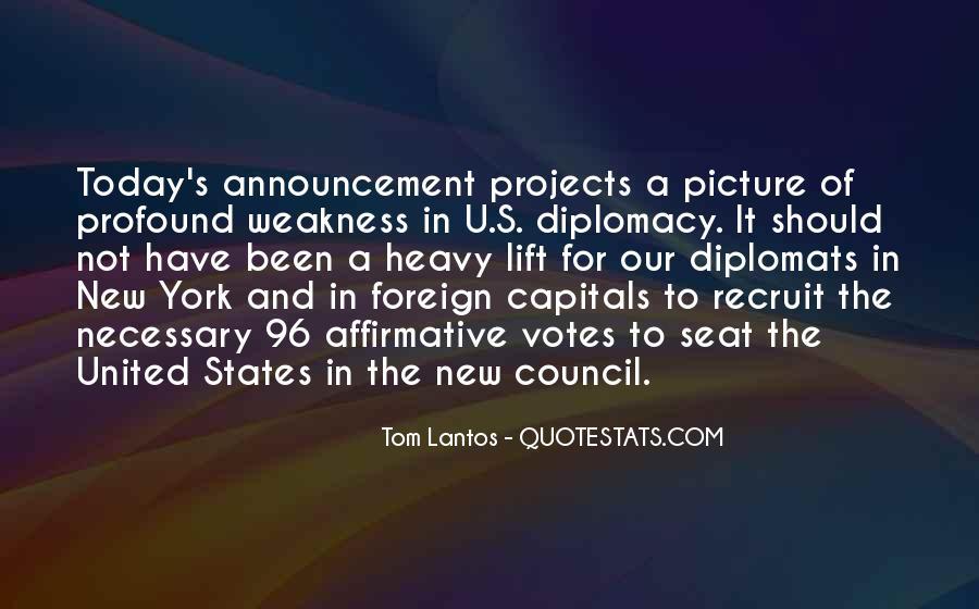 Tom Lantos Quotes #1144250