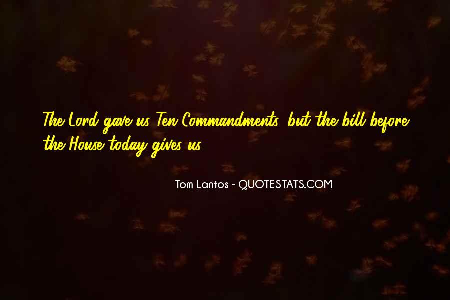 Tom Lantos Quotes #1271153