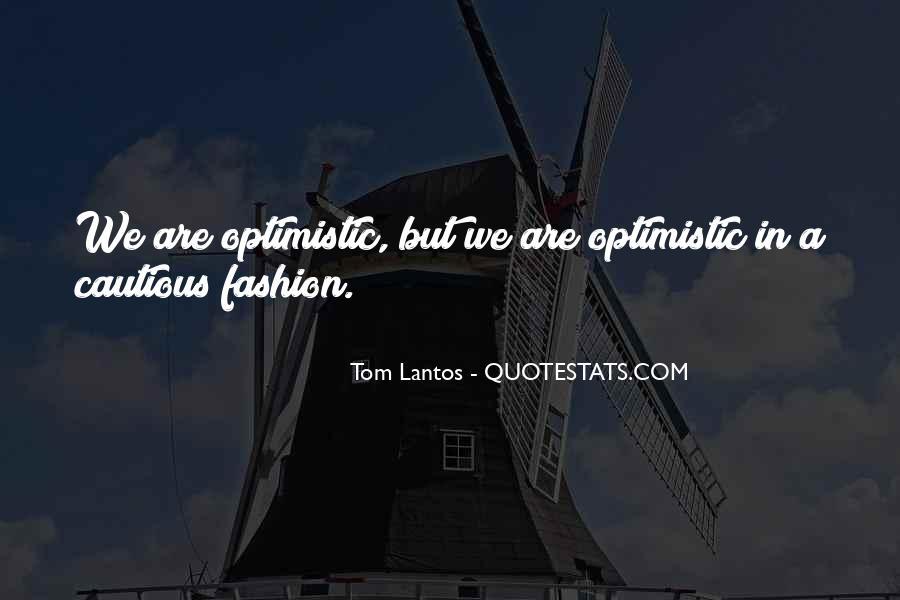 Tom Lantos Quotes #1631362