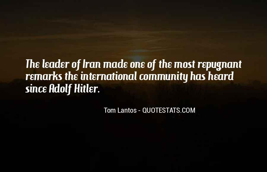 Tom Lantos Quotes #992670