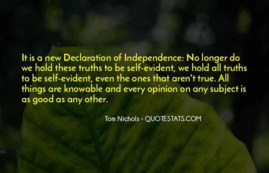 Tom Nichols Quotes #278400
