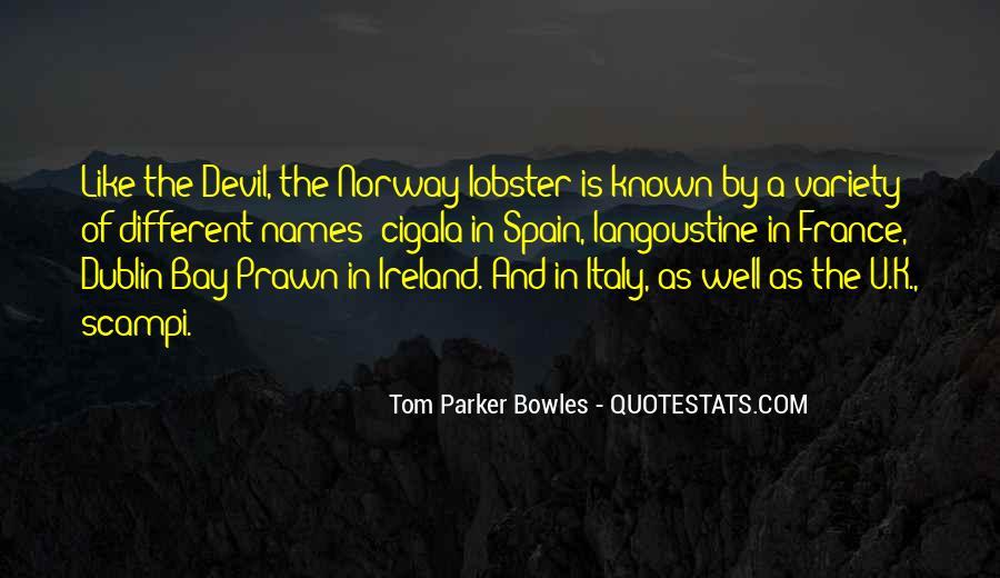 Tom Parker Bowles Quotes #1847696