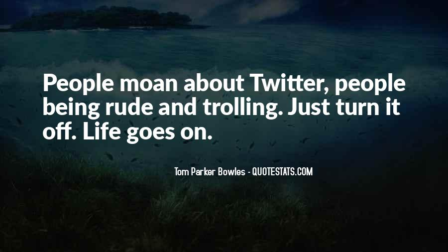 Tom Parker Bowles Quotes #594583