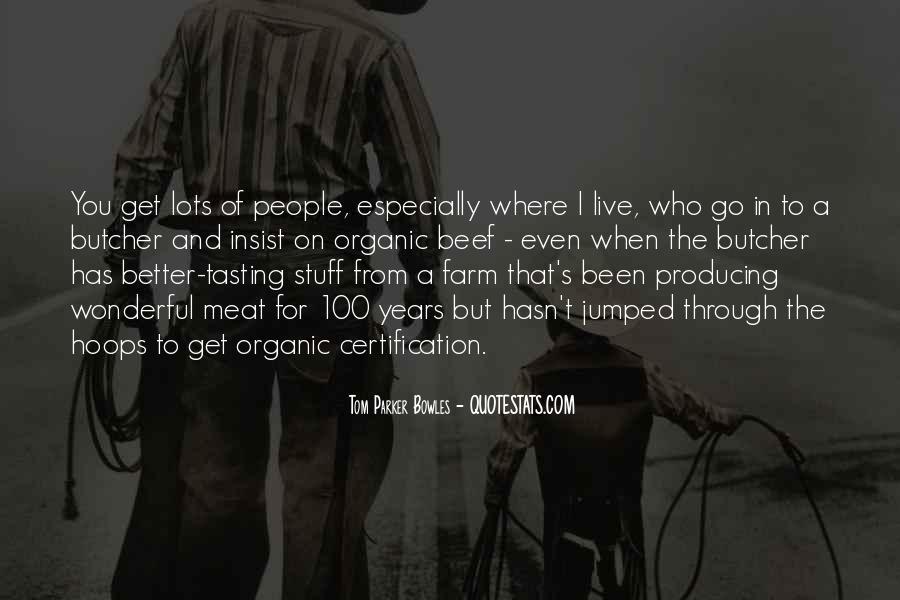 Tom Parker Bowles Quotes #619923