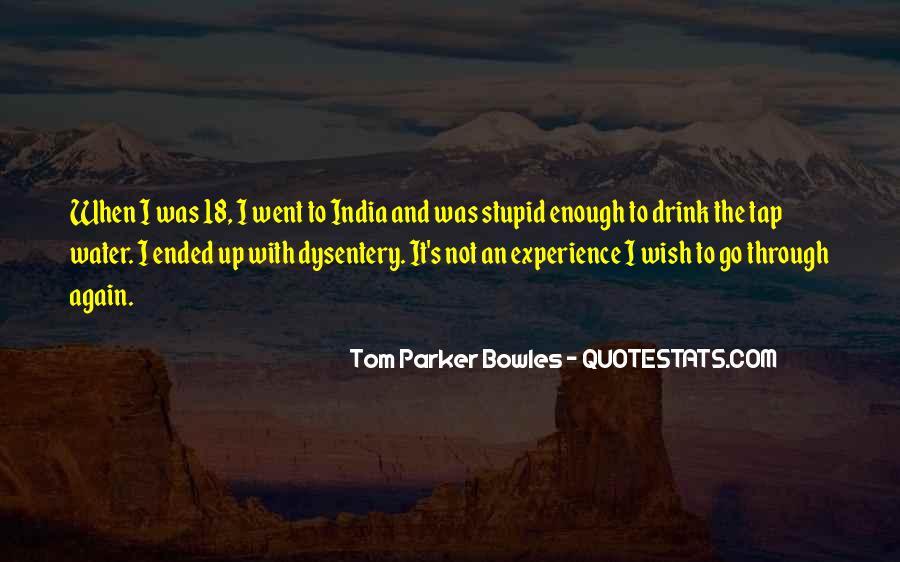 Tom Parker Bowles Quotes #662192