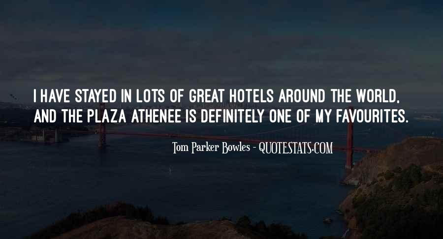 Tom Parker Bowles Quotes #84239