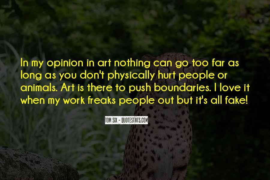 Tom Six Quotes #25922