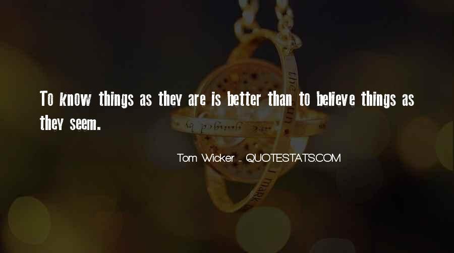 Tom Wicker Quotes #1832330
