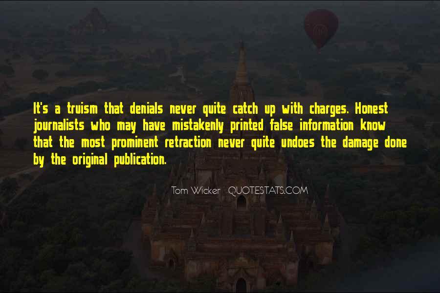 Tom Wicker Quotes #696297